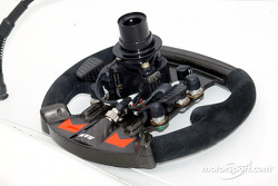 IndyCar steering wheel