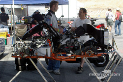 World SuperKart paddock
