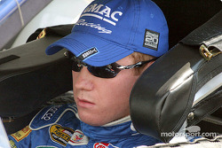 Brian Vickers took the pole