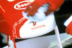 Toyota F1 in garage