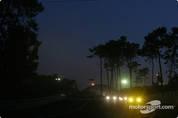Race action as the night falls on Tertre Rouge