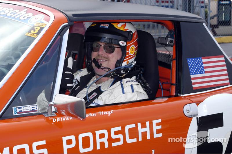 John Hoyt in Porsche 914