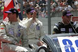 Drivers presentation: Bob Berridge, Chris Stockton, Michael Caine