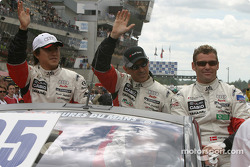Drivers presentation: Seiji Ara, Rinaldo Capello, Tom Kristensen
