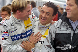 Christijan Albers and Jean Alesi