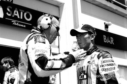 Takuma Sato and Jock Clear
