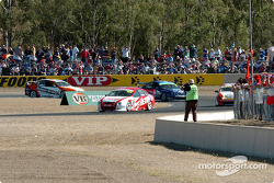 Action at turn three