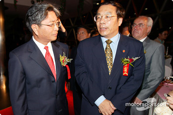 DTM Gala in Oriental Pearl Tower: guests