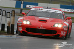 #2 BMS Scuderia Italia Ferrari 550 Maranello: Fabrizio Gollin, Luca Cappellari