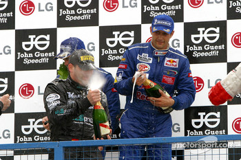 GT podium: champagne for everyone