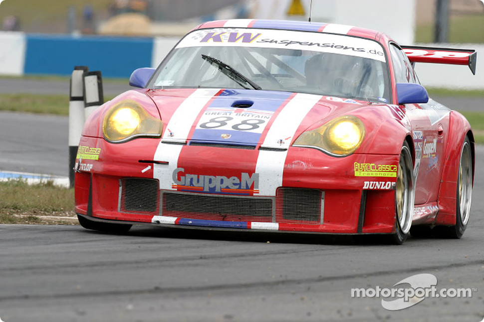 #88 Gruppe M Porsche 996 GT3 RSR: Tim Mullen, Jonathan Cocker