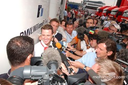 Media attention for Ralf Schumacher