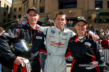 Minardi F1x2 in Johannesburg: Alan van der Merwe and friends