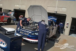 Rusty's team gets the Miller Lite Dodge ready for Friday's practice