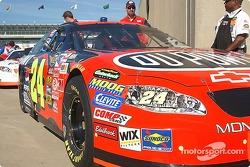 Jeff Gordon's #24 DuPont Chevy