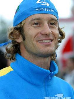 Pole winner Jarno Trulli