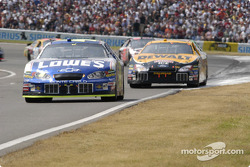 Jimmie Johnson out of turn one