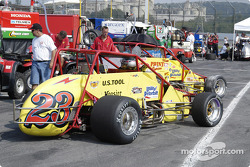 Team Six-R cars at the ready