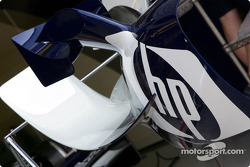 Detail of the Williams-BMW FW26