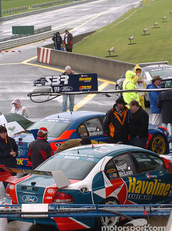 The Stone Bros Racing garage