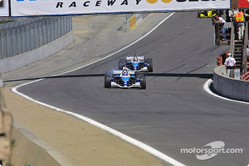 Paul Tracy leads Patrick Carpentier