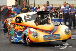 Troy Critchley had a good launch but could not make the field in Pro Mod