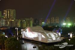 BAR-Honda event in Xin Tian Di