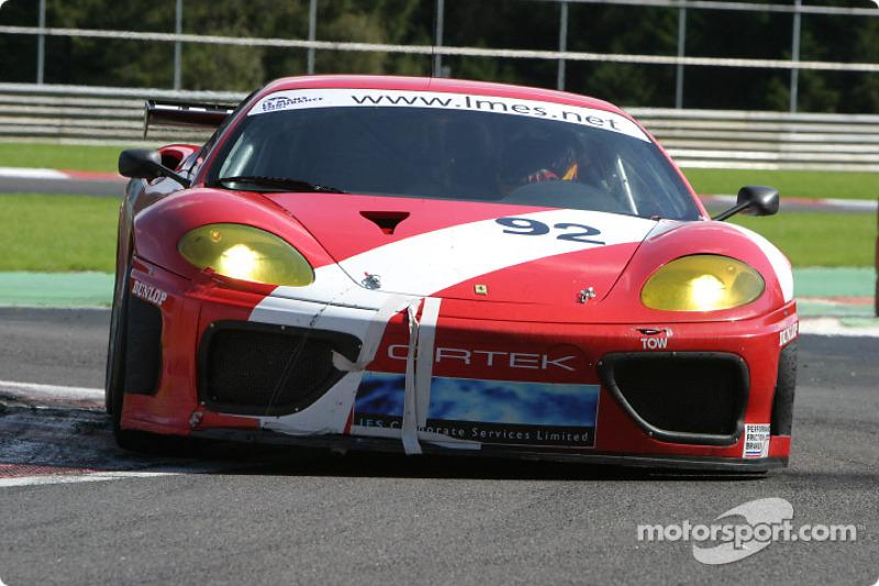 #92 Cirtek Motorsport Ferrari 360 Modena: Maurizio Fabris, Rob Wilson, Andrew Kirkaldy