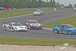 #7 Southard Motorsports BMW Fabcar: Shane Lewis, Vic Rice, #57 Stevenson Motorsports / Auto Assets Porsche GT3 RS: Chip Vance, John Stevenson