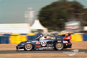 #55 Roock Racing Team Porsche 911 GT2 Evo: Jean-Pierre Jarier, Jsus Pareja, Dominic Chappell