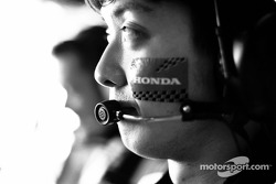 BAR-Honda team member