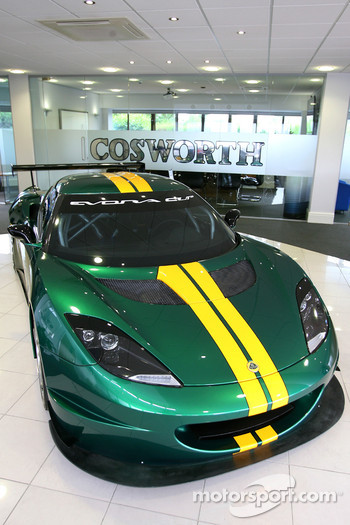 Lotus Evora, visit of the Cosworth factory in Northhampton