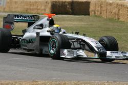 2009 Brawn Mercedes BGP001: Nico Rosberg