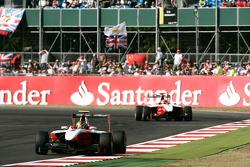 Esteban Gutierrez leads Alexander Rossi