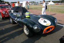 #4 Jaguar D Type 1955:Tony Pickering, Gavin Pickering, Roger Earl