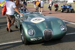 #32 Jaguar C Type 1952: Nigel Webb