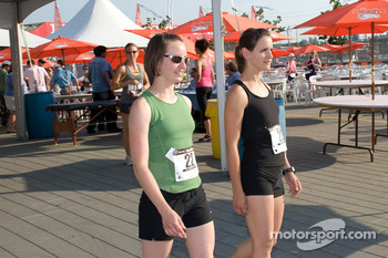 Run-athon participants