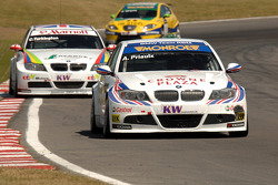 Andy Priaulx leads Colin Turkington and Gabriele Tarquini