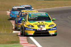 Gabriele Tarquini leads Tom Coronel and Chevrolets