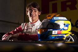Esteban Gutierrez winner of race 7 in the GP3 series at Silverstone