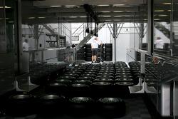 Mercedes GP trucks, Bridgestone tyres