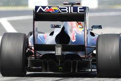 Red Bull Rear diffuser