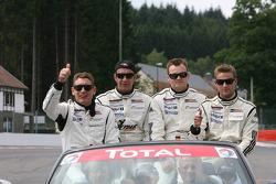 #16 IMSA Performance Matmut Porsche 911 GT3 RS GT2: Raymond Narac, Patrick Long, Patrick Pilet, Richard Lietz
