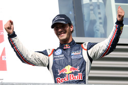 Podium: winner Jean-Eric Vergne