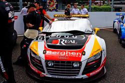 #74 WRT Belgian Audi Club Audi R8 LMS GT3: Frédéric Bouvy, Christian Kelders, Jean-Luc Blanchemain, David Tuchbant