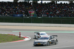 Bruno Spengler, Team HWA AMG Mercedes C-Klasse and Paul di Resta, Team HWA AMG Mercedes C-Klasse