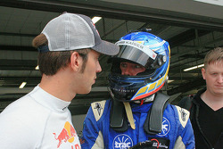 Jean-Eric Vergne and Ross Kaiser