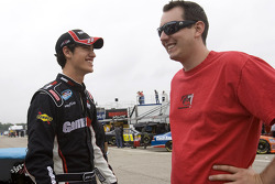 Kyle Busch and Joey Logano talk