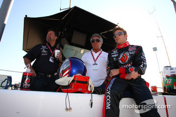 Michael Andretti, Mario Andretti and Marco Andretti, Andretti Autosport