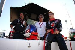 Michael Andretti, Mario Andretti and Marco Andretti, Andretti Autosport
